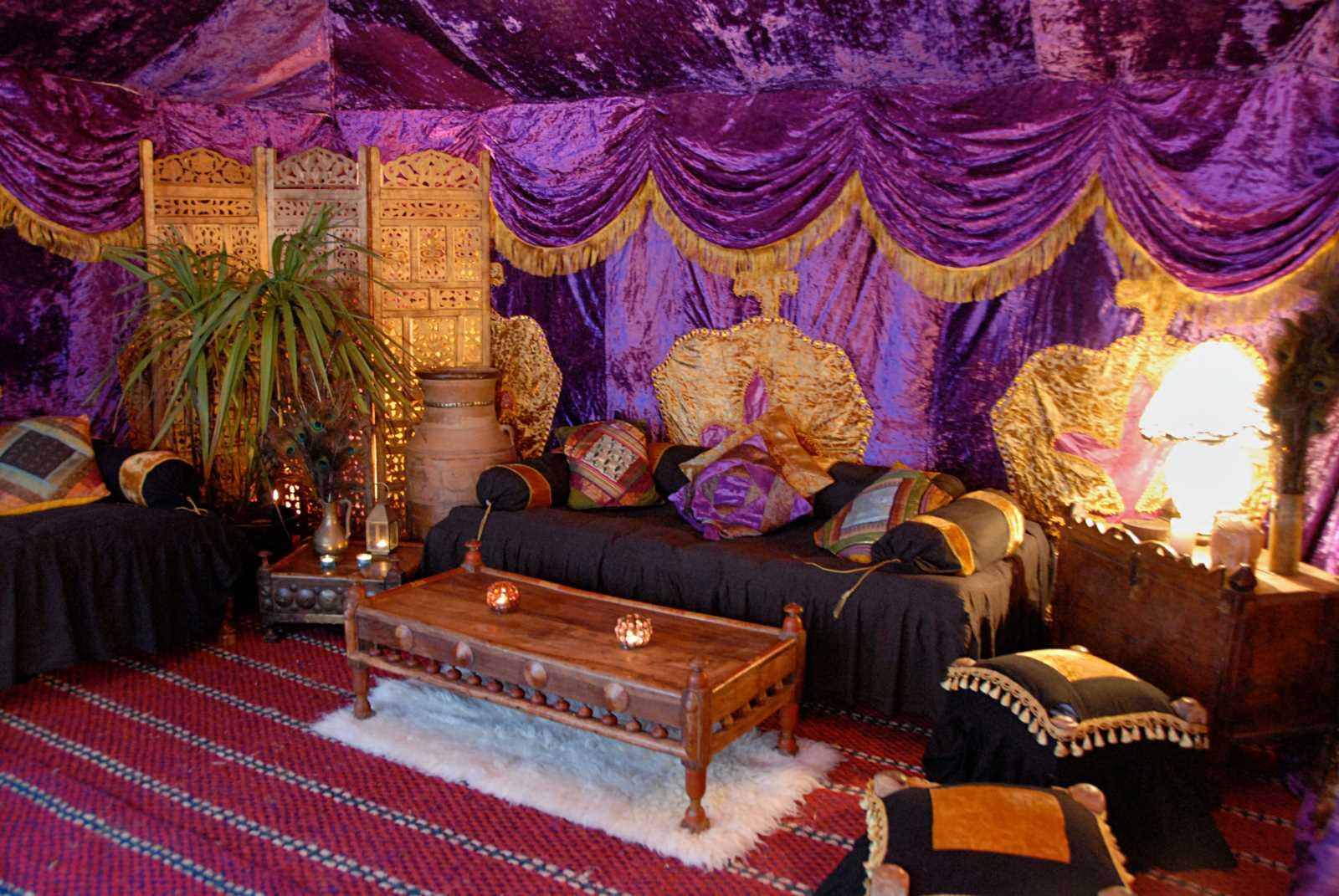 Purple Palace The Arabian Tent Company