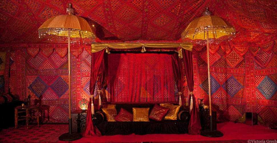 Arabian the arabian tent company for Arabian tent decoration