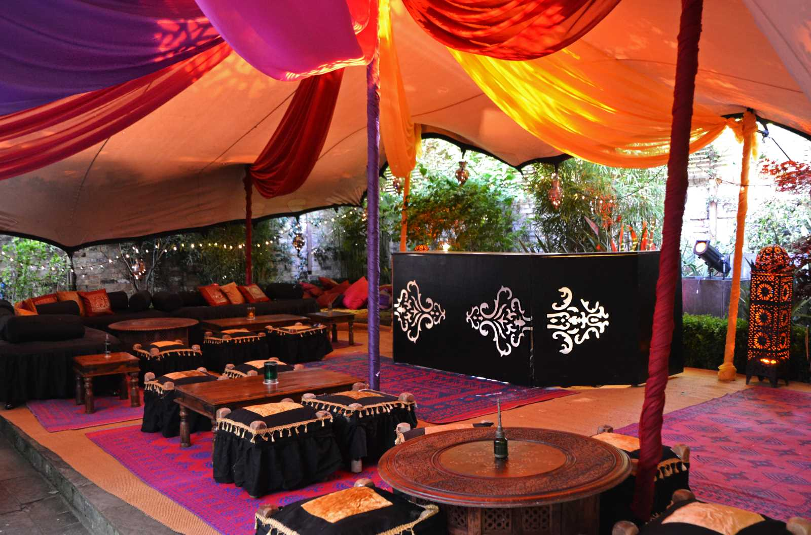 asian wedding marquees for hire & wedding ideas | arabian tent co.
