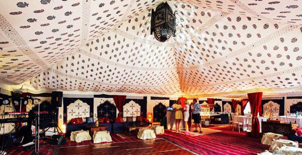 Enquiry form for Raj tent hire & Raj - The Arabian Tent Company