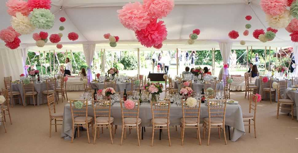 Marquee Decoration Decorating Marquees Across The Uk