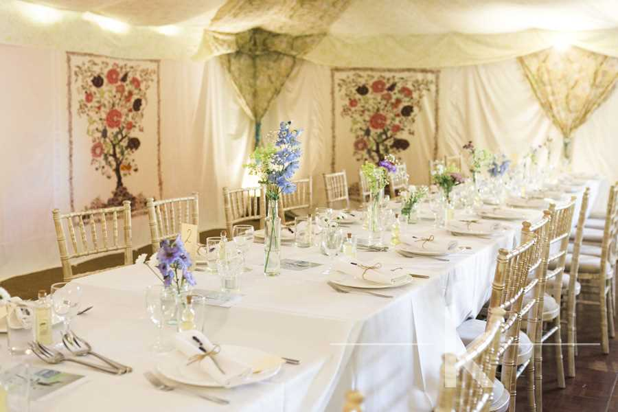 An English Tea Party Tent Fit For The Queen