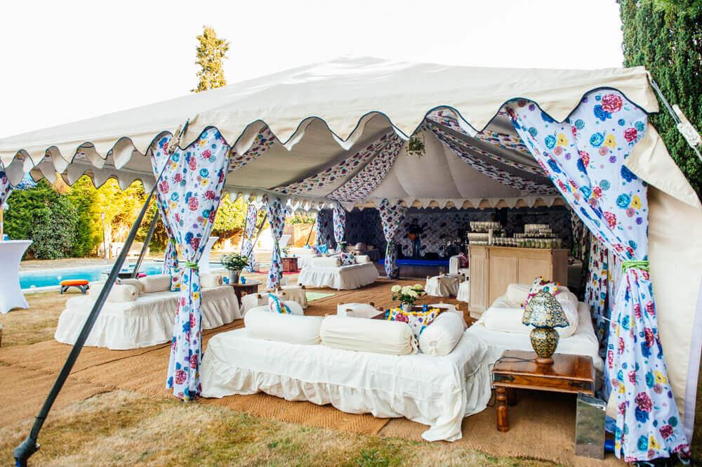40th birthday party ideas for men women arabian tent company