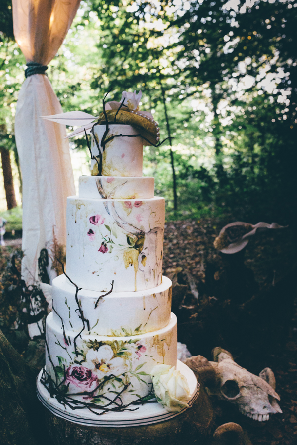 wedding cake tiers meaning inspiration if you go to the woods 26268