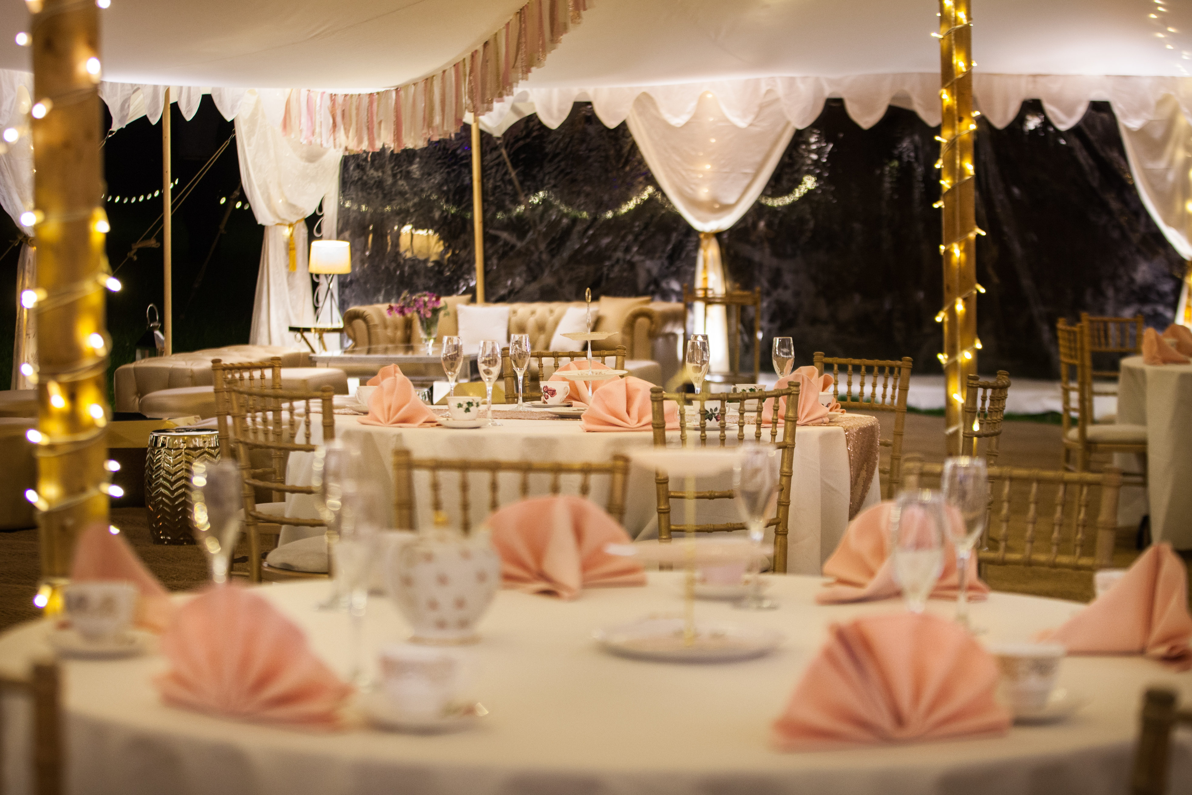 50th birthday party ideas for men & women | arabian tent company