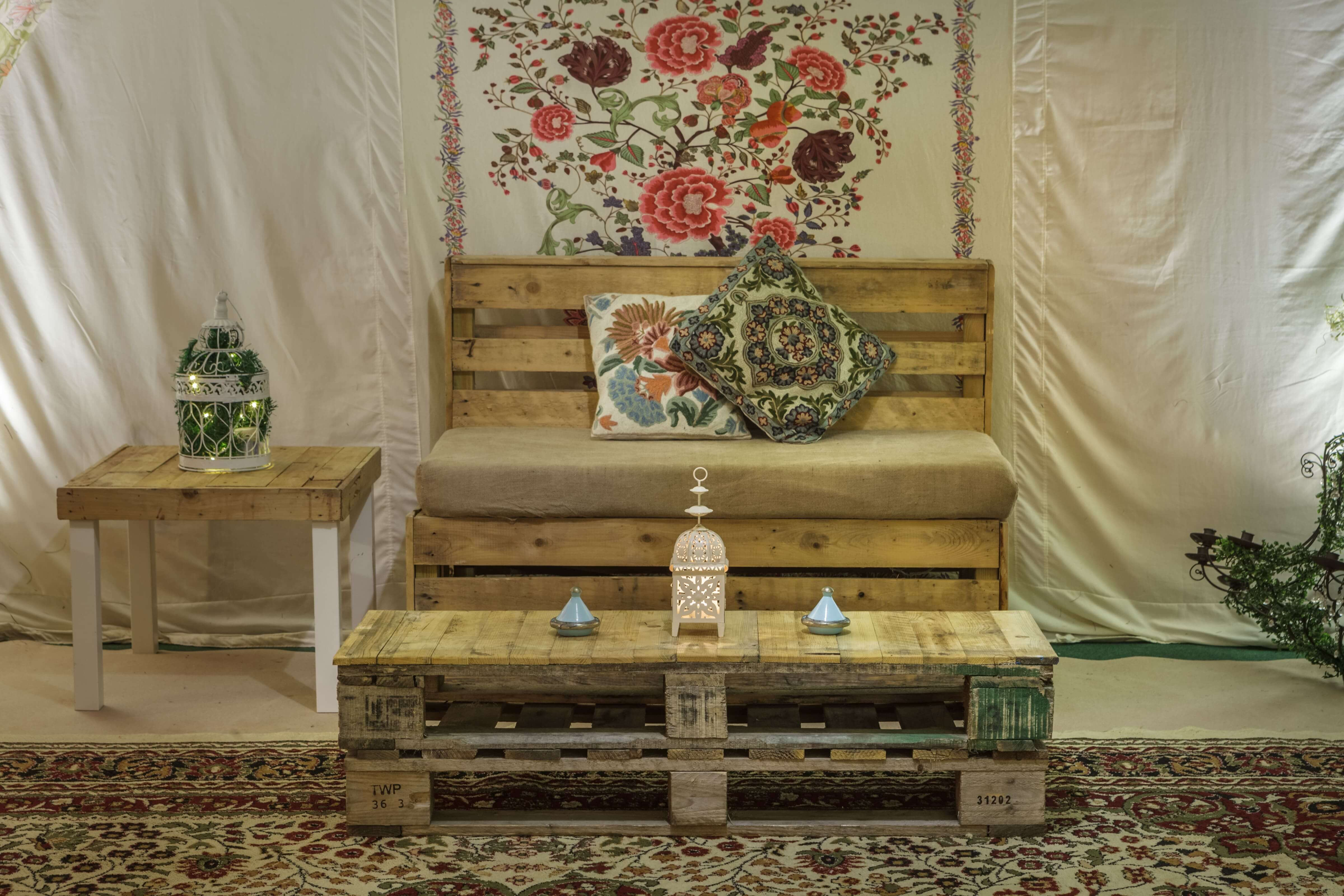 Pallet Furniture Package The Arabian Tent Company