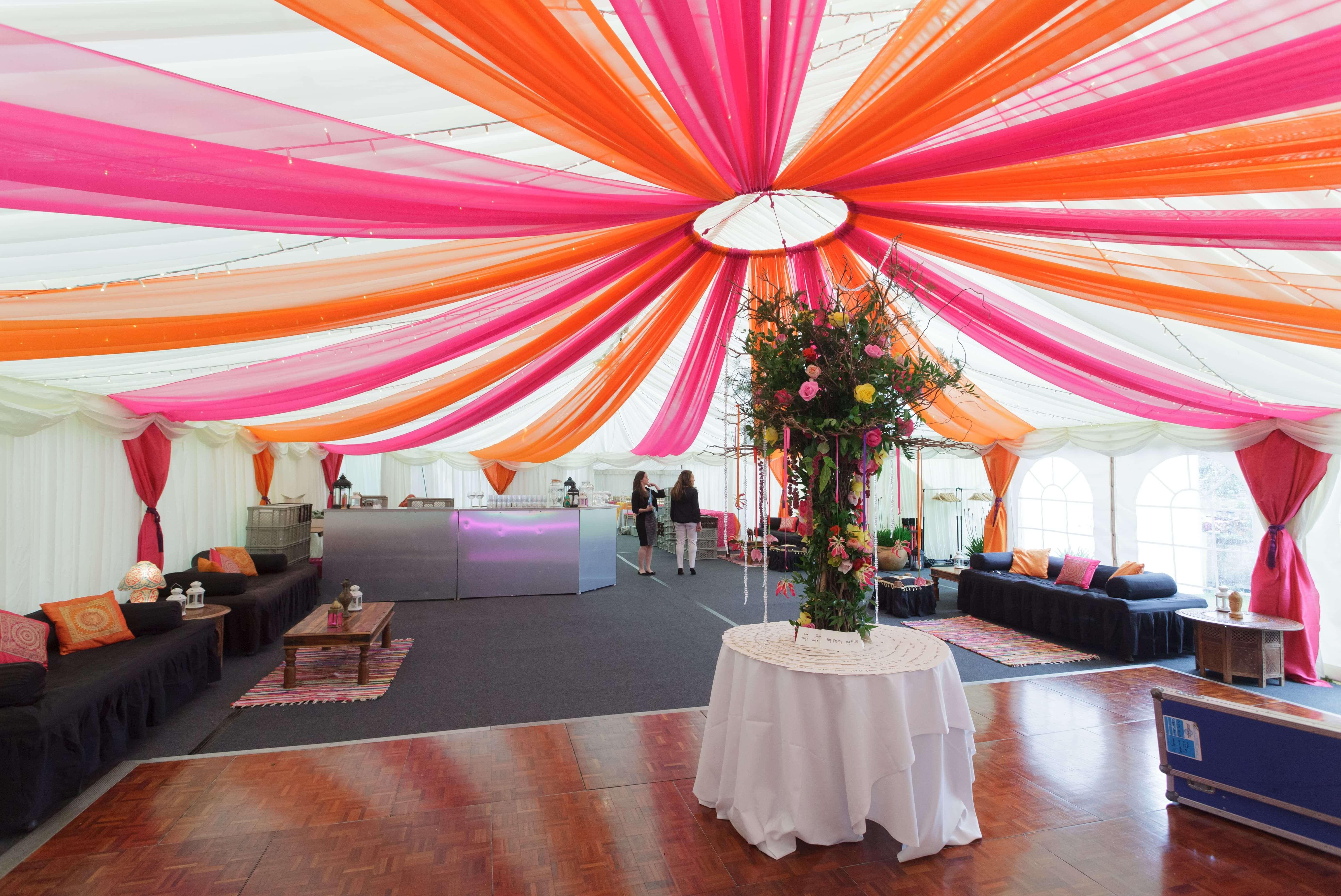 Mehndi Party Ideas Stunning Mehndi Marquees The Arabian Tent Co