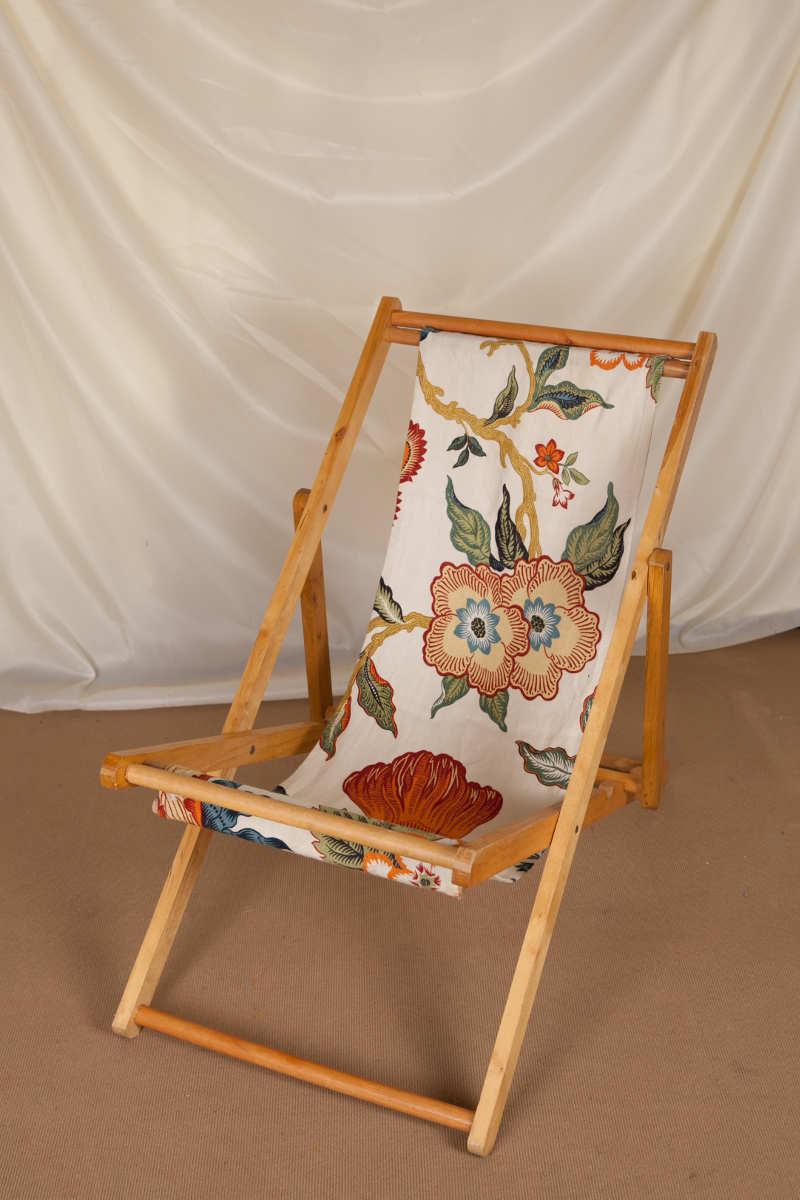 William morris deck chair