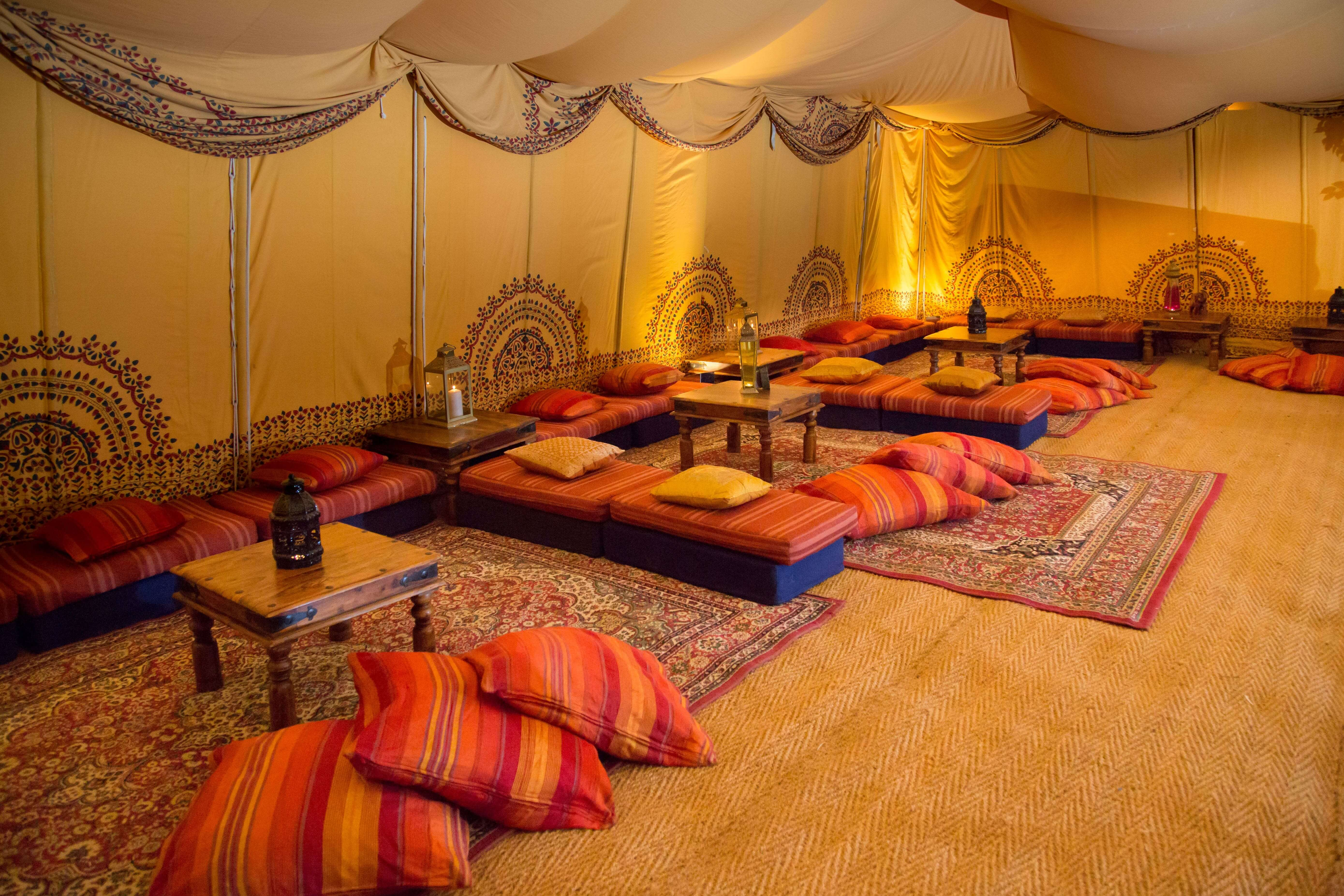 Introducing the new Saffron Tent