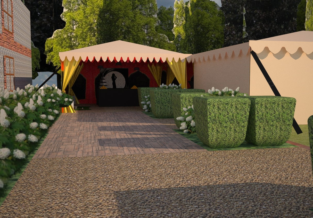 Creating your Bespoke Marquee: Using SketchUp to Tailor to You