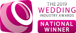 The 2019 Wedding Industry Award National winner